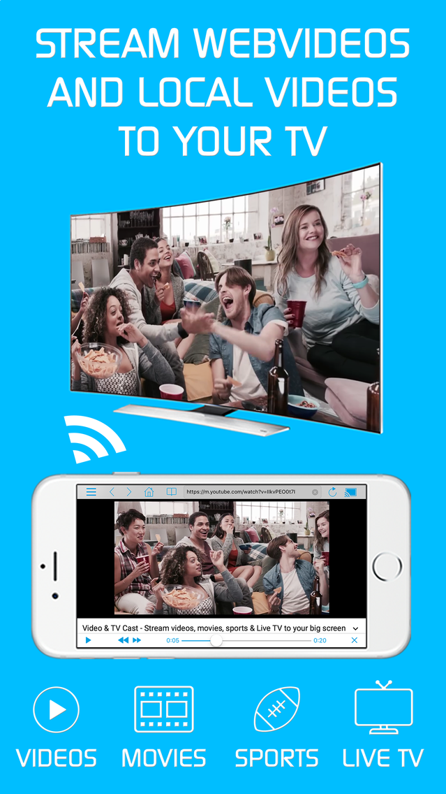 Video & TV Cast + LG Smart TV App for iPhone - Free Download
