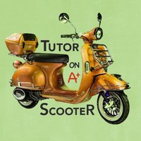 Tutor on a scooter