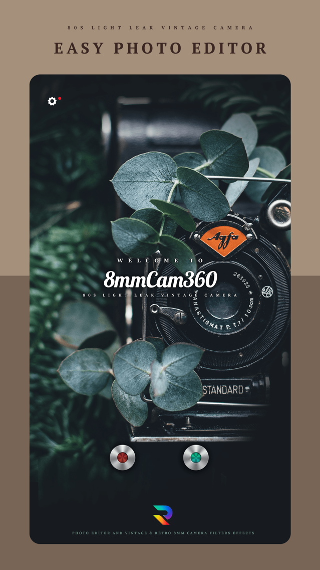 8mm Cam 360 - Photo Editor App for iPhone - Free Download 8mm Cam