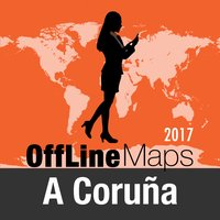 A Coruña Offline Map and Travel Trip Guide