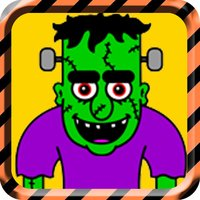 Halloween Frankenstein Drop: Maneuver The Ghostly Beast through this tough, eerie, mysterious, & spooky strategy puzzle game.