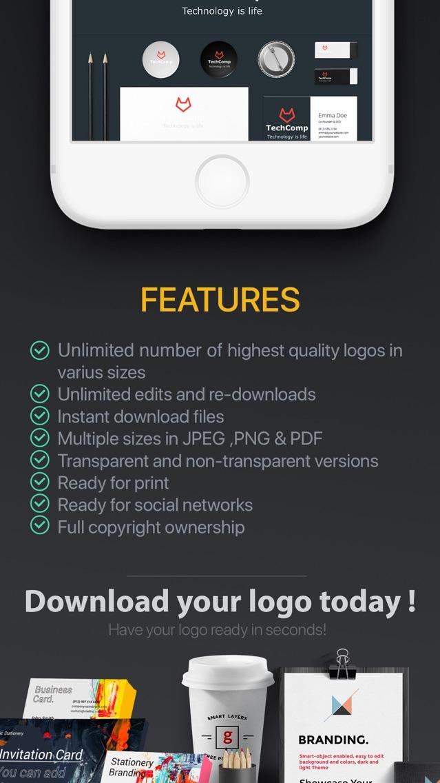 Ai Logo Generator Easy Logos App For Iphone Free Download Ai