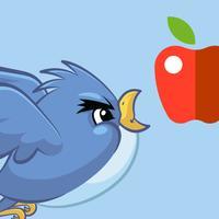 Blue Flying Bird