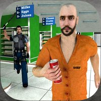 Super-Market Prison Escape 3D: Police Chase & Truck Driving Game