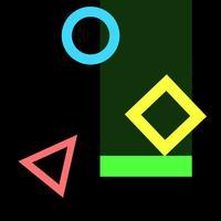 catch color geometry tiles - addictive arcade game