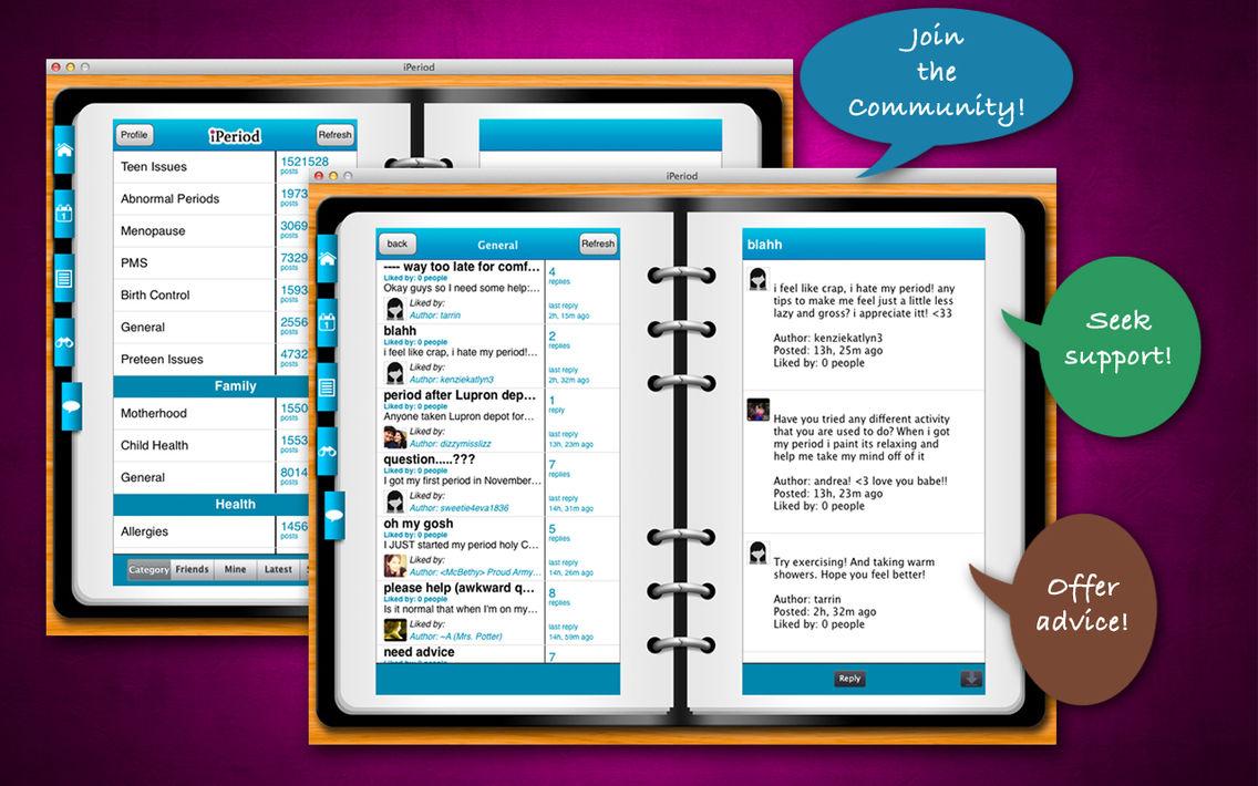 Menstrual calendar app free download | Menstrual Calendar for
