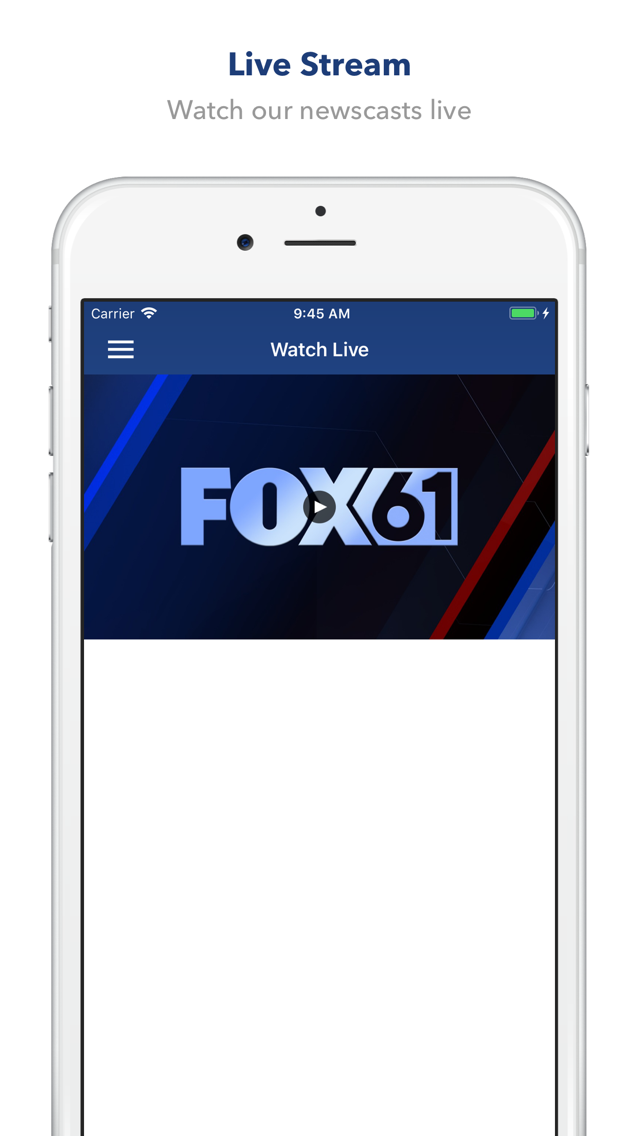 FOX 61 App for iPhone - Free Download FOX 61 for iPad