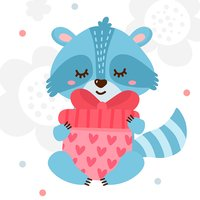 Best Raccoon - Valentine Love
