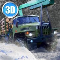 Winter Timber Truck Simulator Full
