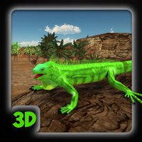 3D Lizards Simulator - Giant Reptile Survival