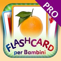 Italian Flashcards for Kids Pro - Learn My First Words with Child Development Flash Cards