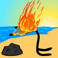 Stick Save - Stickman Beach Party