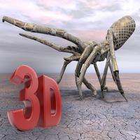 Scorpion King Hunter - Black Fighter Blast 3D Max