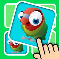 3D Memo match Bird Cards - Improve your kids brain with cute animal pair matching game
