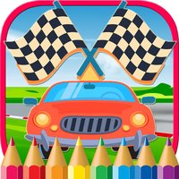 Vehicles & Car Coloring Book Drawing Game for Kids