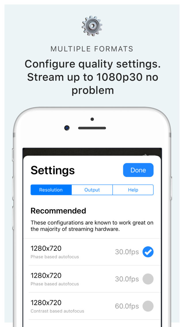 Camera for OBS Studio App for iPhone - Free Download Camera for OBS
