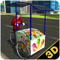 City Ice Cream Delivery – Ride bicycle simulator to sell yummy frozen food