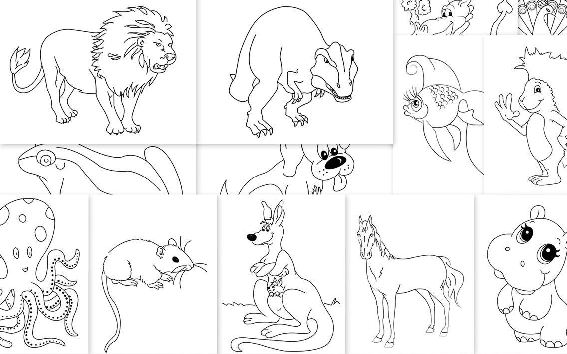 - Coloring Book - Templates For MS Word App For IPhone - Free