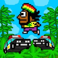 Jumpy Rasta Man - FREE - Cops and Farmer Chase Game