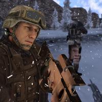 Secret agent Sniper Winter  War 3d