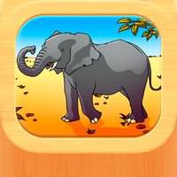 Wild Animal Puzzle for Kids