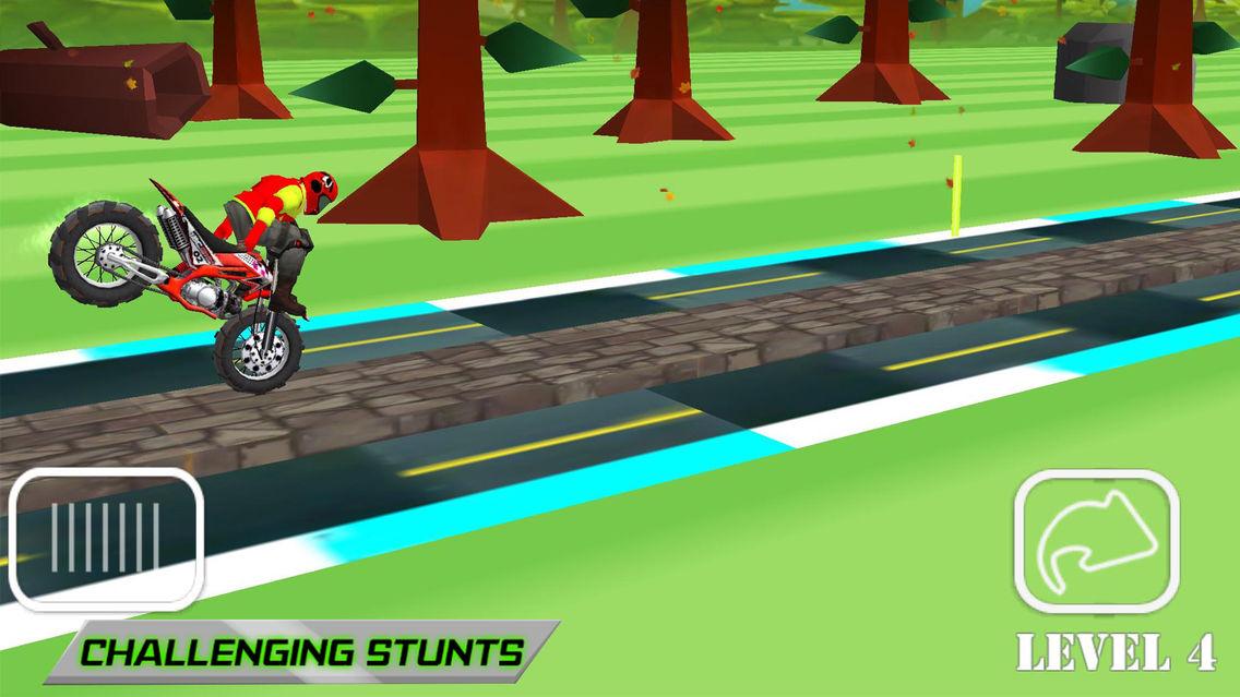 dirt bike ramping games
