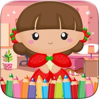 Little Princess Food Coloring World Drawing Story Kids Game