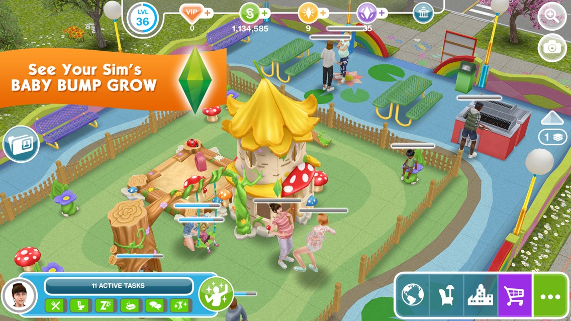 The Sims™ FreePlay App for iPhone - Free Download The Sims
