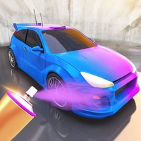 Car Painting Workshop Coloring