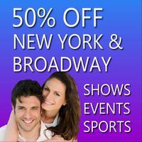 50% Off New York City Broadway