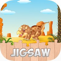 Dino Puzzle Jigsaw HD Games For Toddlers & Kids
