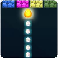 Glow balls through blocks