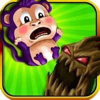 Monkey Babies Free Fall - Catch the Falling Monkeys Game