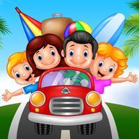 Summer Trip - Family Mini Game