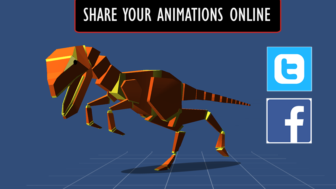 Anim8:3D Character Animation Made Easy App for iPhone - Free