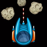 Outer Space Invaders - Asteroids, Stars, And Space Rocket Wars
