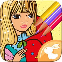 Princess Coloring Book Free For Toddler And Kids