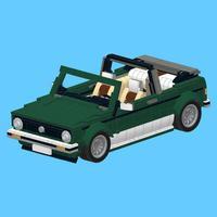 VW Golf for LEGO 10242 Set - Building Instructions