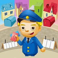 Hello Mr Mailman - fun color matching game