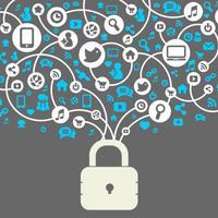 قفل شبكات التواصل الاجتماعي - بكلمة مرور او بصمة