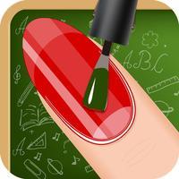 Style My Manicure High School Fashion Nails BFF Sparkles Club Game - Free App