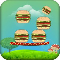 Burger Tower Builder - Sky Perfect Block