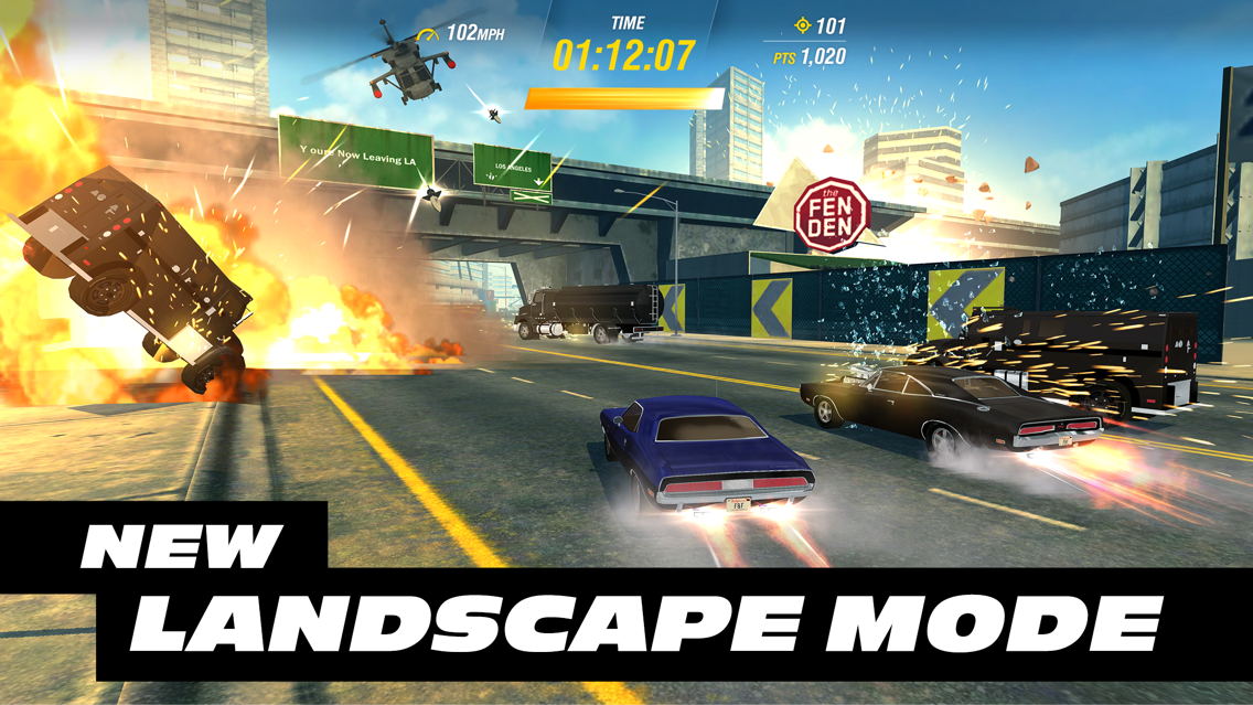 Fast & Furious Takedown App for iPhone - Free Download Fast