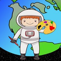 Space Coloring Book For Kids Tolders