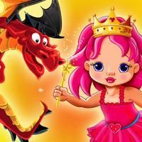 الأميرة و التنانين - العاب بنات ذكاء و مغامرة