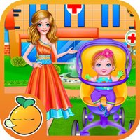 New-Born Baby Hospital Doctor Care-Dressup game