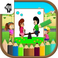 Play Time Kids Coloring Book
