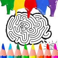 Maze Coloring BookPages Free For Kids Toddler