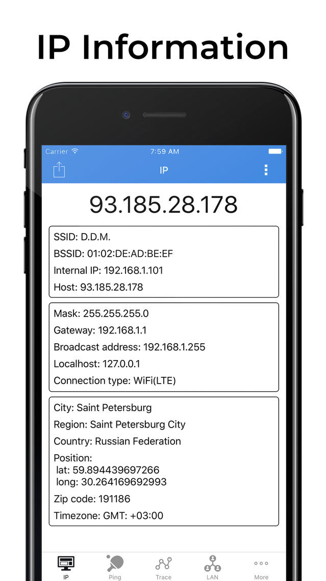 IP Tools: Network Scanner App for iPhone - Free Download IP Tools
