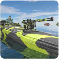 Army Boat Sea Border Patrol - Modern Naval Warfare